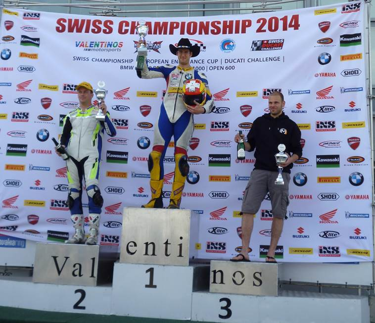 Podest Slovakiaring 2014 Lauf 3